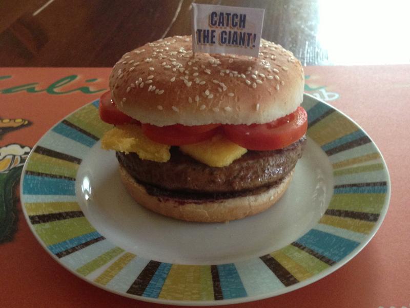 cinghiale burger